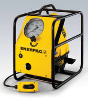 Electric Tensioning Pump features remote controlled valve.
