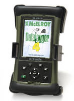 Data Logger records pipe fusion process parameters.