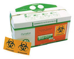 Waste Disposal Containers handle non-sharps laboratory waste.