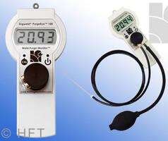 Weld Purge Monitor incorporates zero calibration capability.
