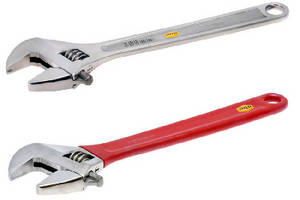 Adjustable Wrenches are corrosion resistant for use in critical areas.
