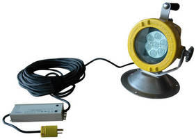 Explosion Proof LED Work Light suites low-voltage applications.