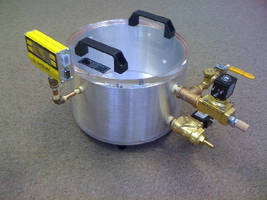 Low Vacuum Chamber targets degassing applications.
