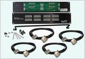 Rugged RJ45/SCSI-5 Patch Panel withstands extreme conditions.