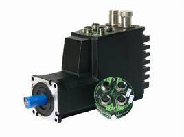 Integrated Servo Motors use Profinet module.
