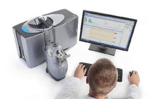 Particle Size Analyzer measures from 10 nm to 3.5 mm.