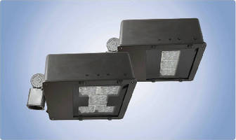 LED Flood Lights come in 70 and 100 W models.