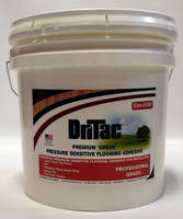 Pressure Sensitive Flooring Adhesive has eco-friendly formula.