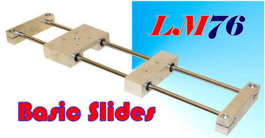 Linear Motion Slides support single-/multi-axis applications.