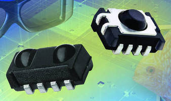 SMT IR Receivers target active 3D glasses.