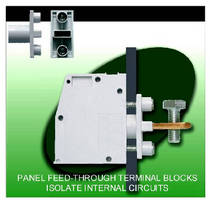 Terminal Blocks isolate internal circuits from interference.