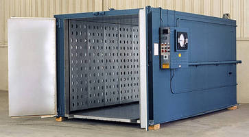 Large-Volume Walk-In Oven from Grieve