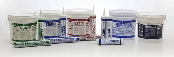 Non-staining Silicone has sanitary formulation.