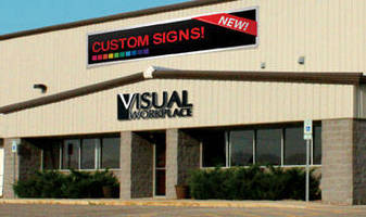 Color Signs and Banners are customized to application needs.