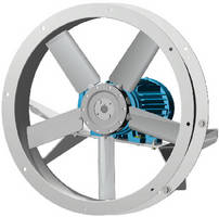 Direct Drive Flange Fans offer capacities to 34,000 cfm.