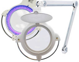 Magnifying Lamps offer distortion-free LED illumination.