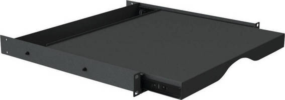 VMP Showcases New ER-SS1U Rack Mounted Sliding Shelf at 2012 ISC West