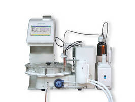 Potentiometric Titrator features 4 multi-tasking workstations.
