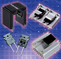 Heatsinks are designed for TO-264 devices.