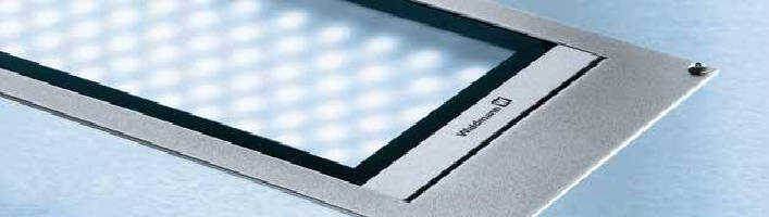 LED Panel Luminaires deliver homogenous, wide-area lighting.