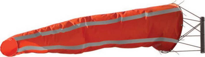 Windsock with Reflective Material is designed for visibility.