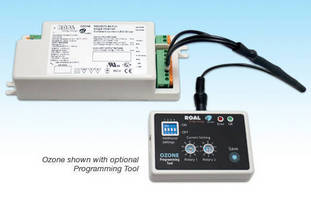 Programmable LED Drivers power high-current arrays.