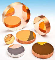 OFHC Laser Copper Mirrors are suited for high-power lasers.