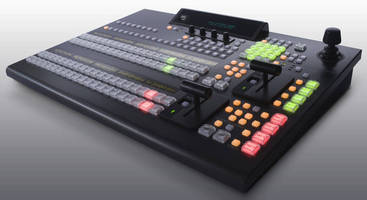 Video Production Switcher comes in 1 M/E and 2 M/E versions.