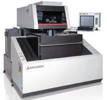 Wire EDM Machine features cylindrical drive technology.