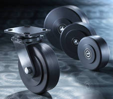 Corrosion-Resistant Wheels suit heavy load applications.
