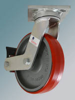 Kingpinless Casters suit high-speed, industrial applications.