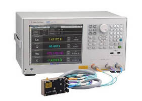 LCR Meter tests high-frequency passive components.