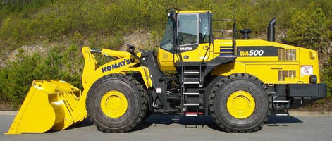 Wheel Loader is powered by Tier 4 Interim engine technology.