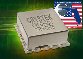 Voltage Controlled Oscillator delivers +8 dBm output power.