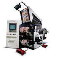 Slitting/Rewinding System handles film and flexible packaging.