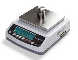 Portable Balances offer capacities from 300-3,000 g.
