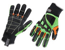 Cut- and Puncture-Resistant Glove is flexible, impact resistant.