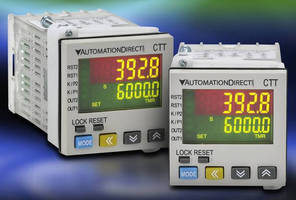 Multifunction Devices operate as timers, counters, tachometers.