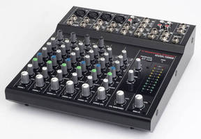 Professional Audio Mixers offer diverse input, control options.