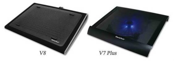 GlacialTech Unfurls Its latest V-Shield Series Laptop Cooling Pads