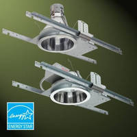 Compact Fluorescent Downlights suit commercial construction.