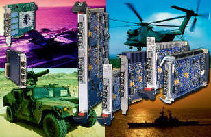 Quad Serial FPDP Modules supply high-speed digital data links.