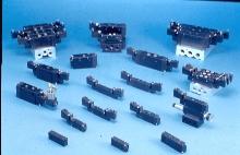 Inline Valves mount on manifold.