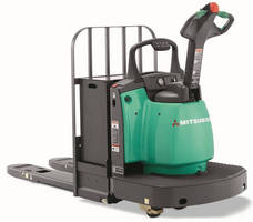 Electric Walkie End-Rider supports loads up to 6,000 lb.