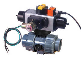 PVC Ball Valves feature multifunctional locking handle.