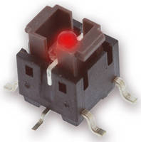 Illuminated Tact Switch features surface mount design.