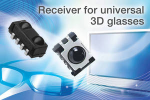 IR Receivers are designed for 3D TV eyewear.