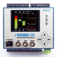 Machinery Monitor offers 2-channel monitoring.