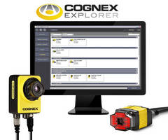 New Control Center for All Cognex Vision Systems and Industrial ID Products