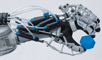 Exoskeleton Hand fosters facilitated human-machine cooperation.